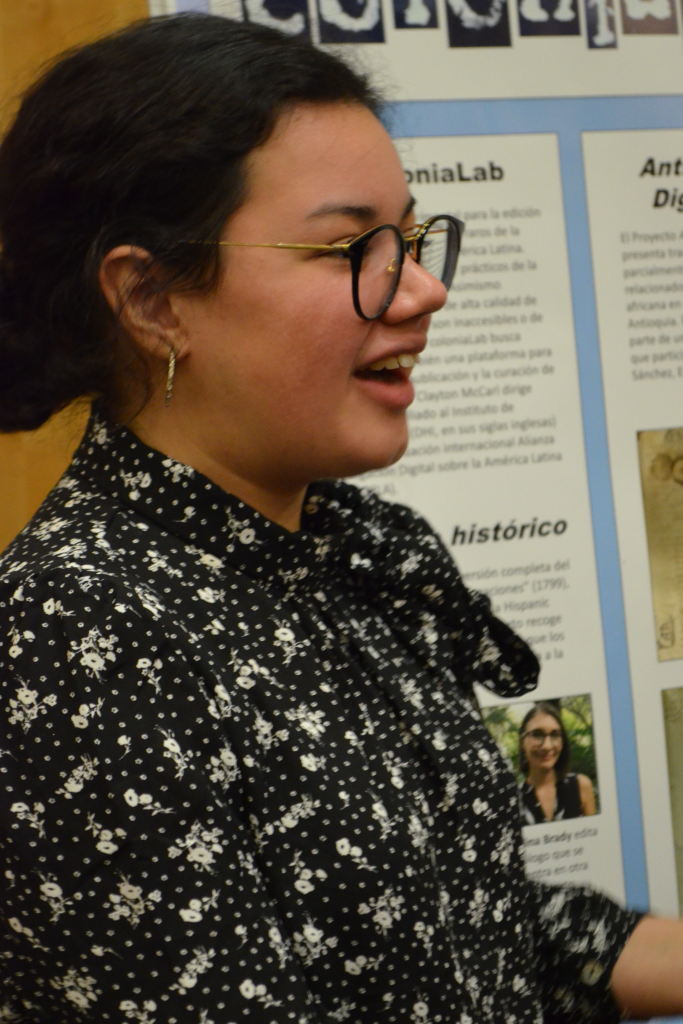 Amarilys Sánchez at the 2019 UNF International Research Symposium